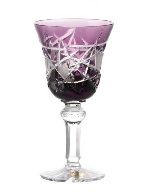 Bicchiere Mars, cristallo, colore viola, volume 240 ml
