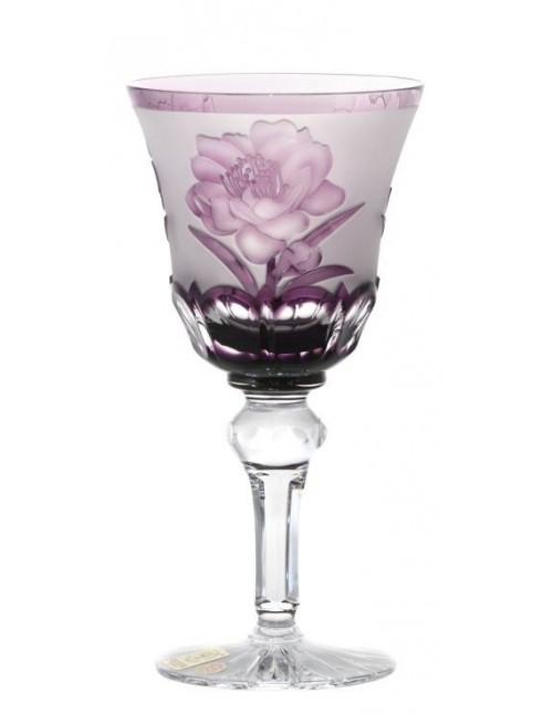 Bicchiere Ibich, cristallo, colore viola, volume 180 ml