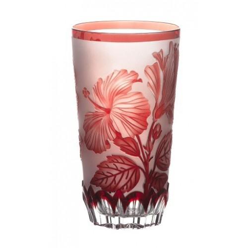 Bicchiere Ibich, cristallo, colore rosso, volume 320 ml