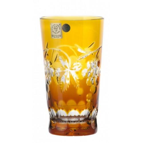 Bicchiere Grapes, cristallo, colore ambra, volume 320 ml