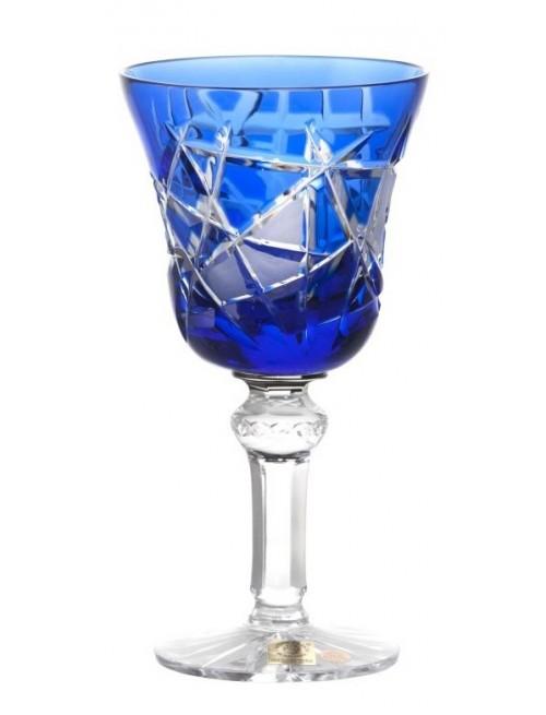 Bicchiere Mars, cristallo, colore blu, volume 180 ml