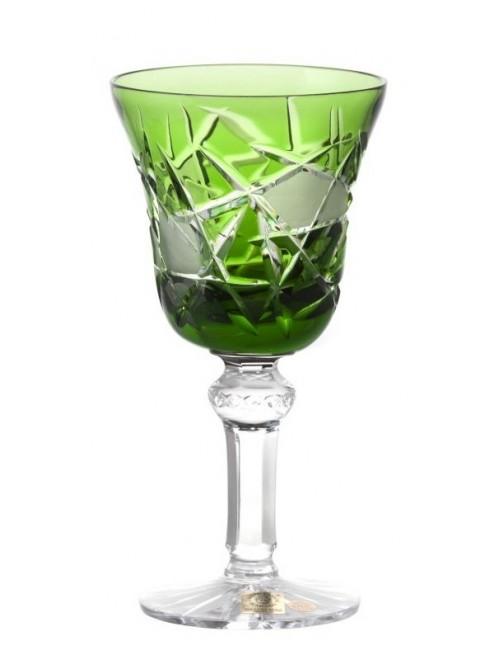 Bicchiere Mars, cristallo, colore verde, volume 180 ml