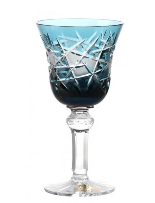 Bicchiere Mars, cristallo, colore azzurro, volume 180 ml