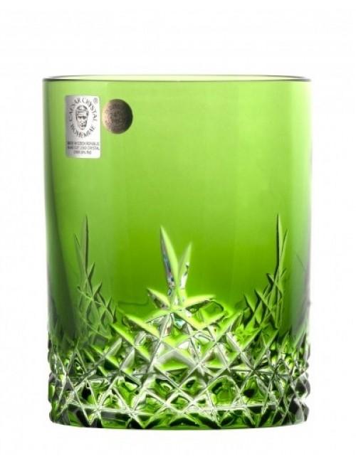 Bicchiere New Milenium, cristallo, colore verde, volume 320 ml