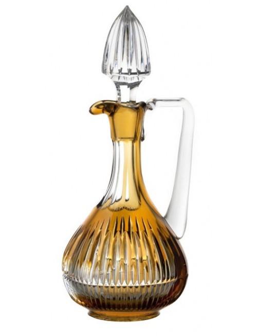 Caraffa Thorn, cristallo, colore ambra, volume 950 ml