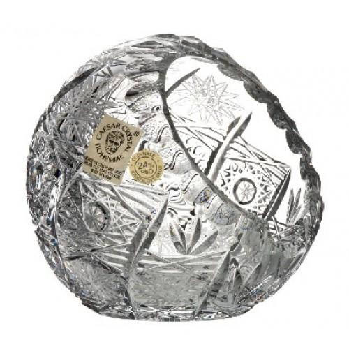Portacenere 500PK, cristallo trasparente, diametro 90 mm