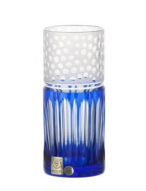 Bicchiere Dalmata, cristallo, colore blu, volume 350 ml
