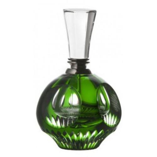 Flacone Mirer, cristallo, colore verde, volume 20 ml