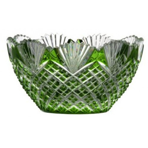 Ciotola Pataya, cristallo, colore verde, diametro 118 mm