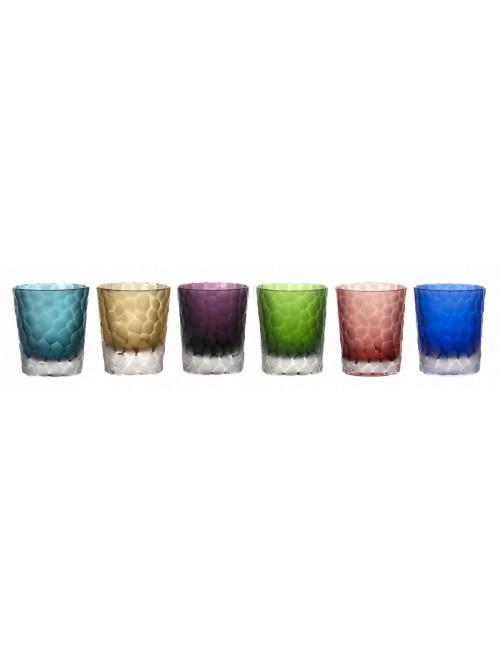 Set Bicchieri Palline, cristallo, multicolore, volume 290 ml