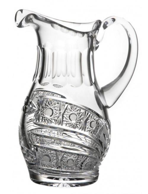 Brocca Cometa, cristallo trasparente, volume 1250 ml
