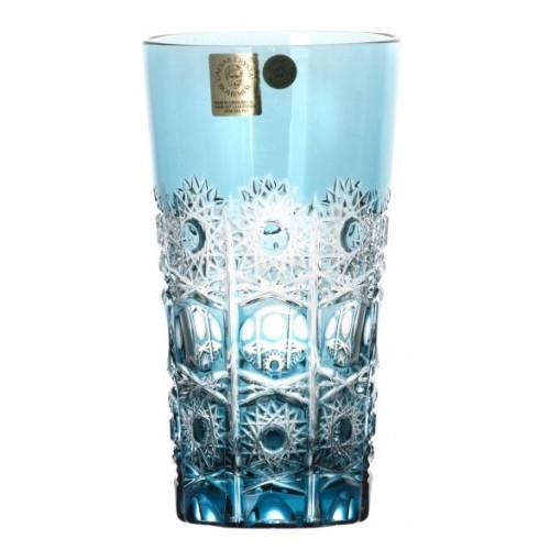 Bicchiere Petra, cristallo, colore azzurro, volume 320 ml