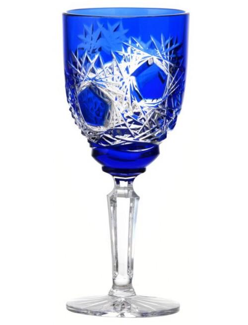 Bicchiere Frost, cristallo, colore blu, volume 150 ml