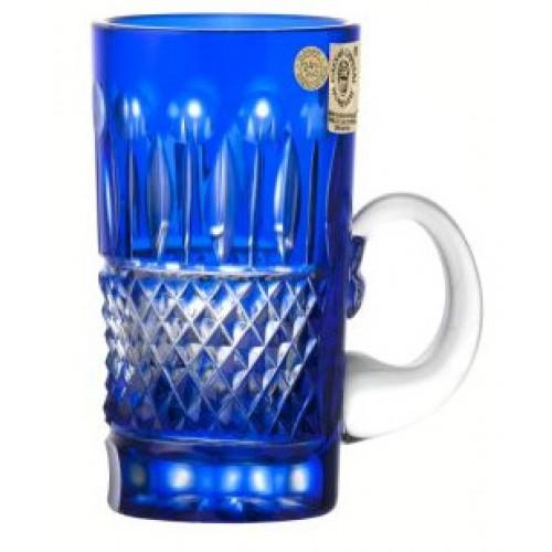 Tazza Tomy, cristallo, colore blu, volume 100 ml