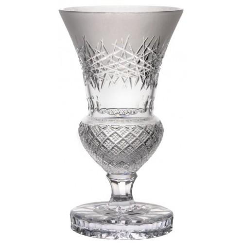 Vaso Jika, cristallo trasparente, altezza 410 mm
