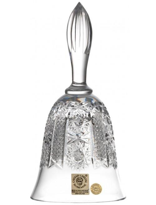 Campanella Iris, cristallo trasparente, altezza 165 mm