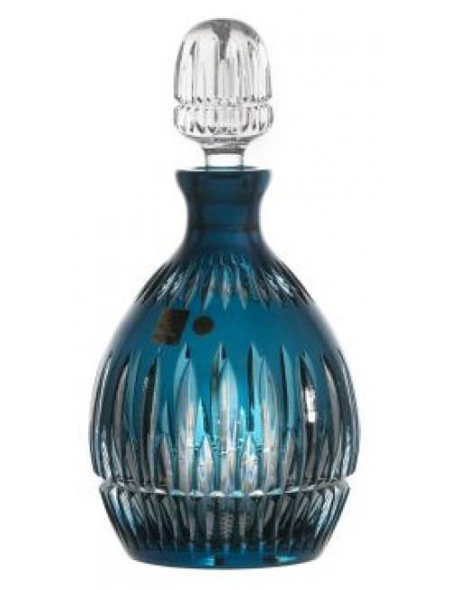 Bottiglia Thorn, cristallo, colore azzurro, volume 700 ml