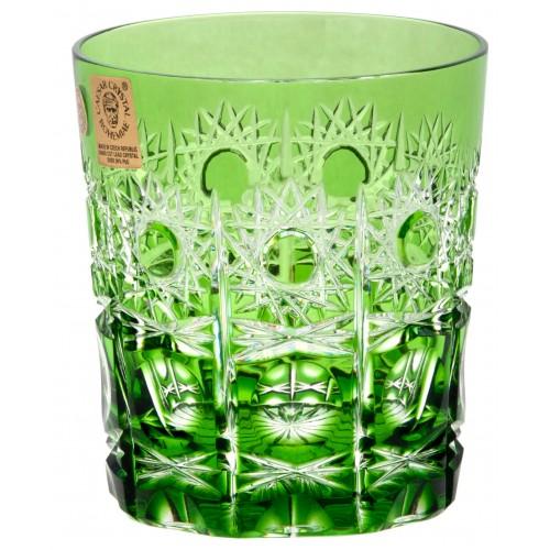 Bicchiere Petra, cristallo, colore verde, volume 290 ml