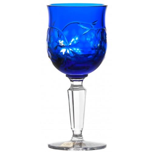Bicchiere Grapes, cristallo, colore blu, volume 140 ml