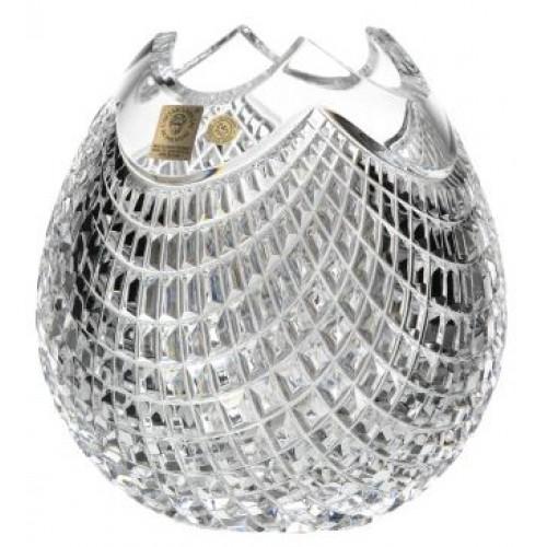 Vaso Quadrus, cristallo trasparente, altezza 210 mm