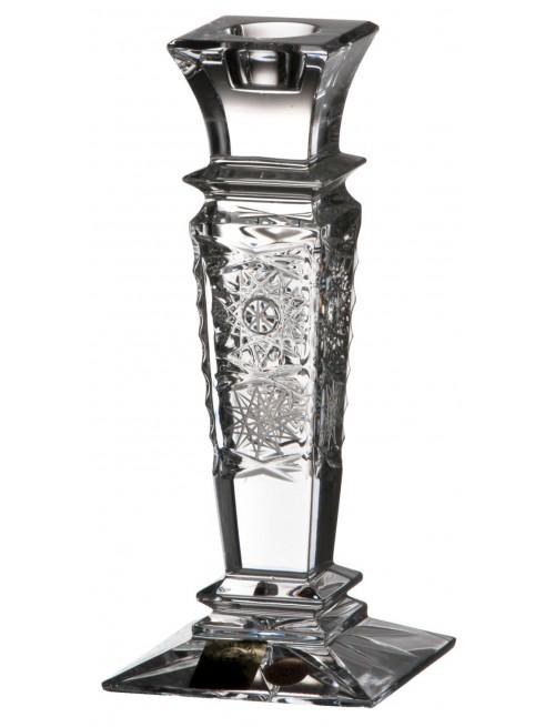 Portacandela 500PK, cristallo trasparente, altezza 150 mm