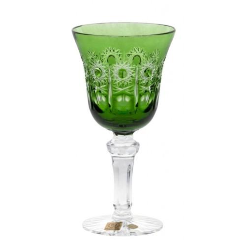 Bicchiere Petra, cristallo, colore verde, volume 180 ml