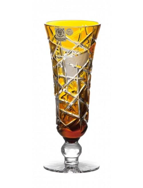 Bicchiere Mars, cristallo, colore ambra, volume 150 ml
