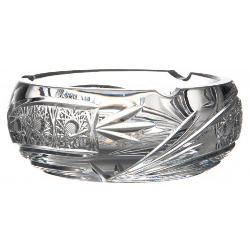 Portacenere Cometa, cristallo trasparente, diametro 155 mm