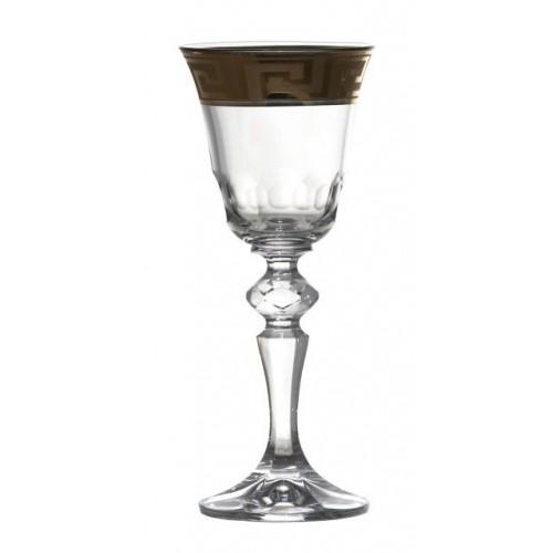 Bicchiere, cristallo trasparente, volume 60 ml