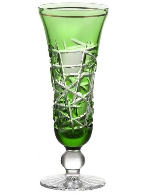 Bicchiere Mars, cristallo, colore verde, volume 150 ml
