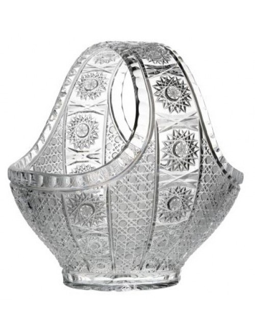 Cesto Marcela, cristallo trasparente, diametro 300 mm