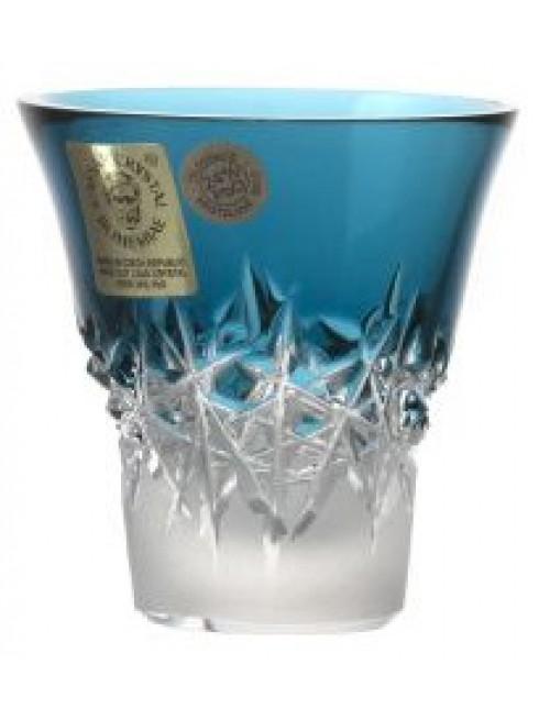 Bicchierino Hoarfrost, cristallo, colore azzurro, volume 45 ml