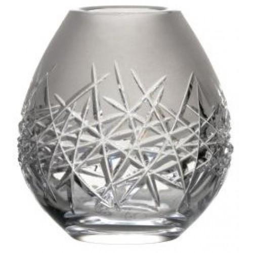 Vaso Hoarfrost, cristallo trasparente, altezza 135 mm