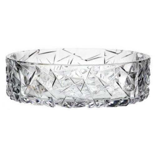 Insalatiera Floe, cristallo trasparente, diametro 195 mm