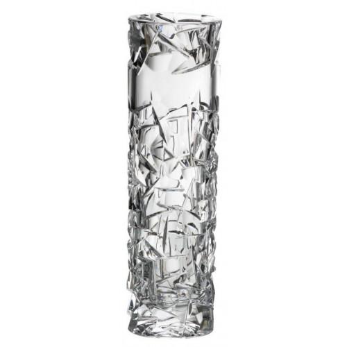 Vaso Floe, cristallo trasparente, altezza 230 mm