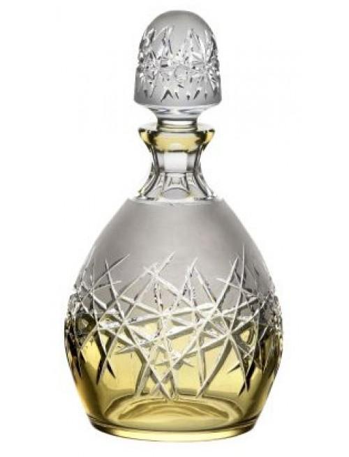 Bottiglia Hoarfrost, cristallo, colore ambra, volume 700 ml