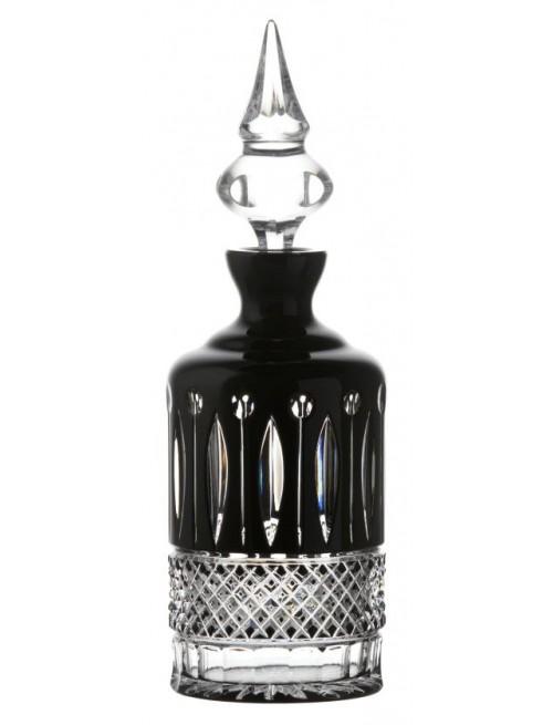 Bottiglia Tomy, cristallo, colore nero, volume 700 ml