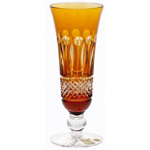 Bicchiere Tomy, cristallo, colore ambra, volume 150 ml