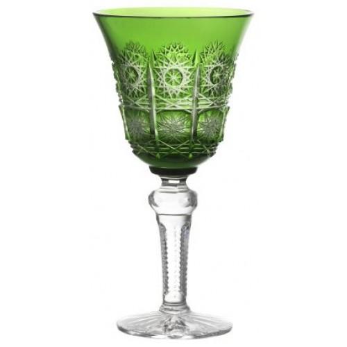 Bicchiere Paula, cristallo, colore verde, volume 240 ml
