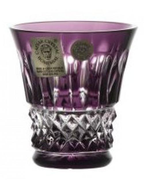 Bicchierino Tomy, cristallo, colore viola, volume 50 ml