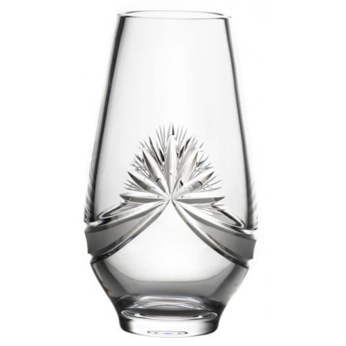 Vaso Fiocchi, cristallo trasparente, altezza 305 mm