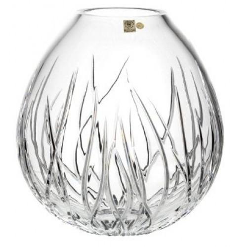 Vaso Alga marina, cristallo trasparente, altezza 210 mm