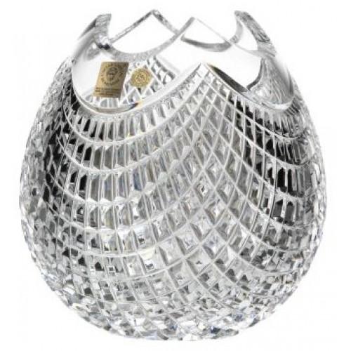 Vaso Quadrus, cristallo trasparente, altezza 165 mm
