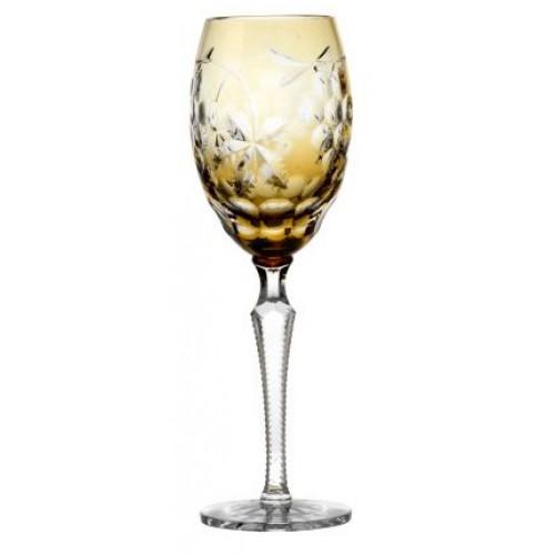 Bicchiere Grapes, cristallo, colore ambra, volume 280 ml