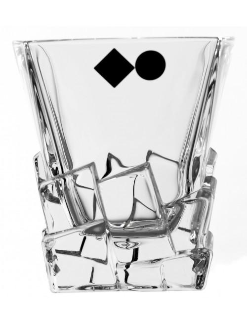 Bicchiere Crack, cristallo trasparente, volume 310 ml