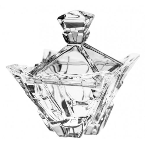 Confettiera Piramide, cristallo trasparente, diametro 189 mm