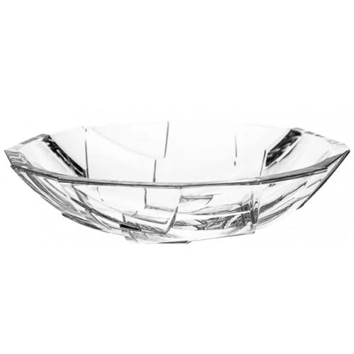 Insalatiera Crack, cristallo trasparente, diametro 335 mm