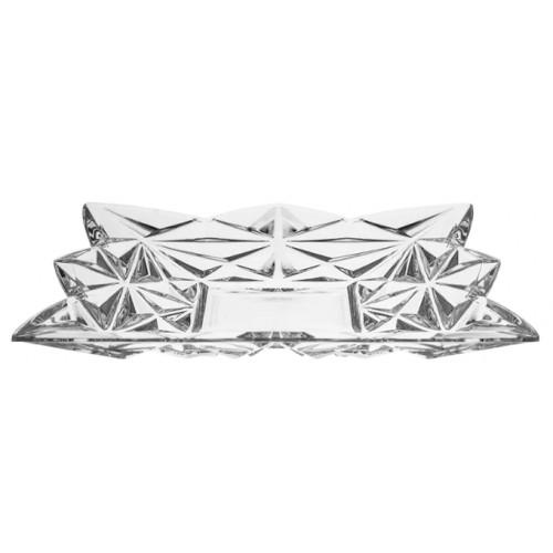 Piatto Piramide, cristallo trasparente, diametro 305 mm