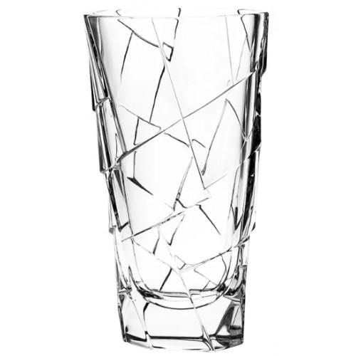 Vaso Crack, cristallo trasparente, altezza 305 mm