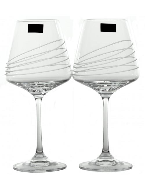 Set bicchieri Naomi 2x, vetro trasparente, volume 360 ml